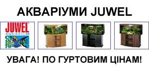 АКЦІЯ на авкаріуми JUWEL